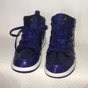Nike Air Jordan Retro 1 Deep Royal Purple 9C
